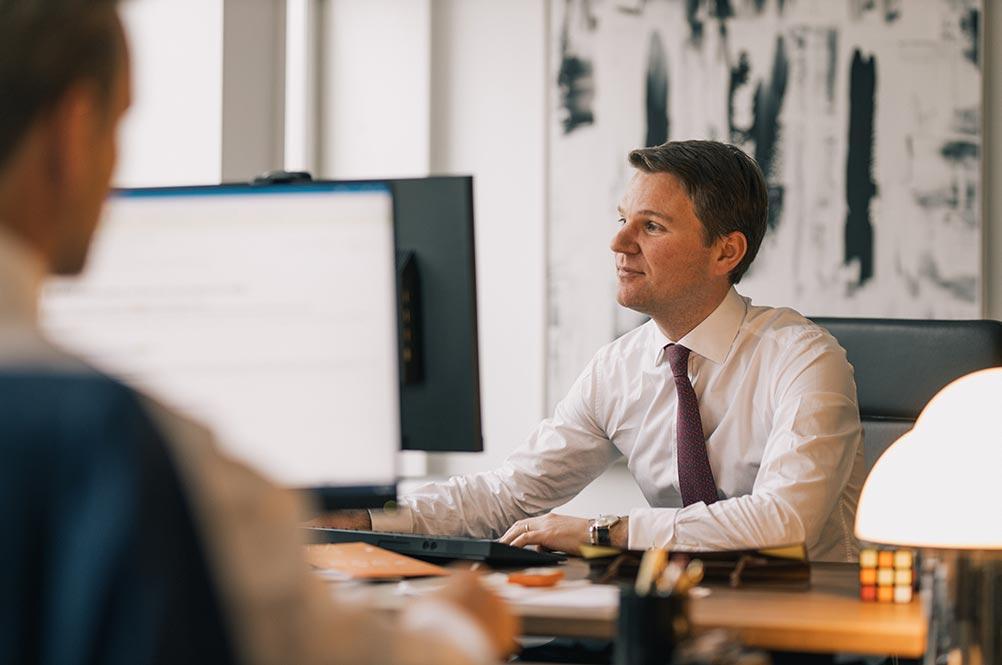 Bild på Jakob Eliasson, Managing partner och portföljförvaltare